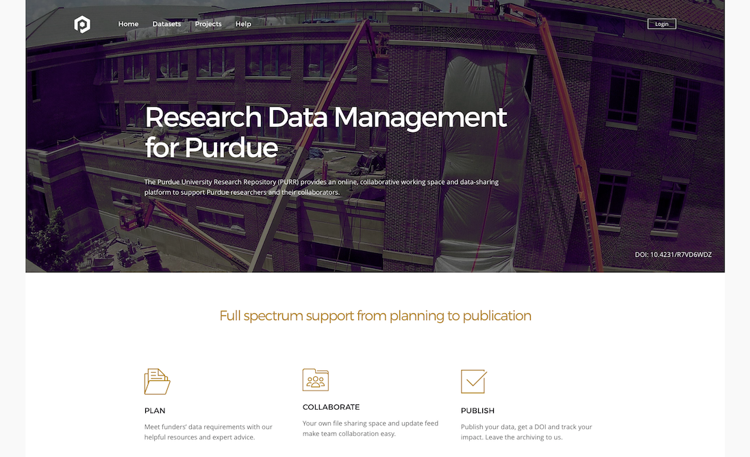 Purdue University Research Repository (PURR)