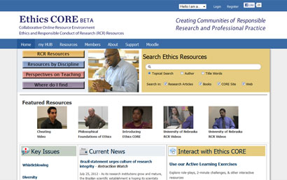 ethics core Digital Library