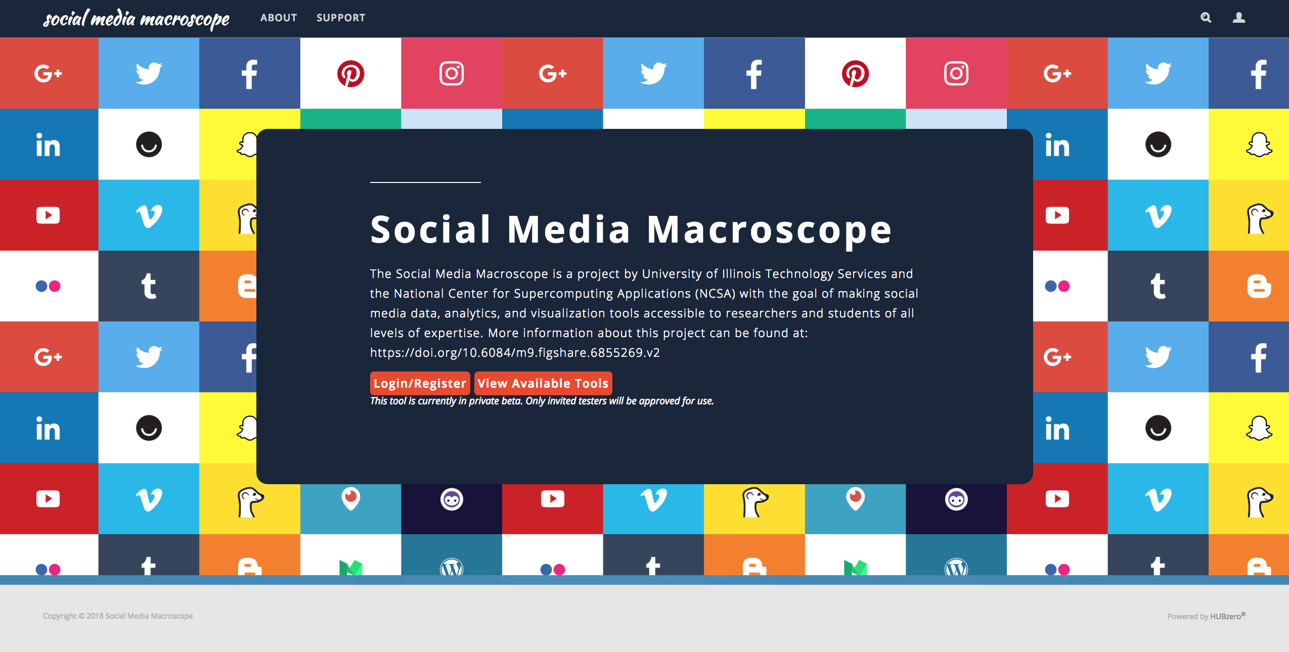Social Media Macroscope
